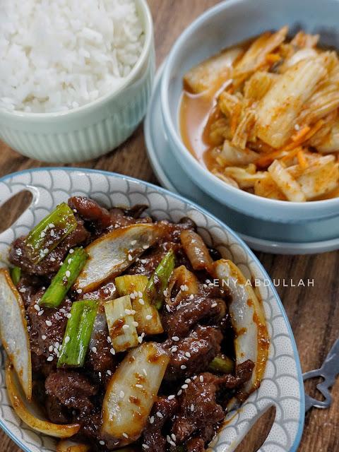 Resepi Kimchi, Kimchi halal, kimchi mudah, easy kimchi recipe, kimchi malaysia