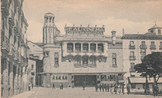 Real Cinema Madrid postcard