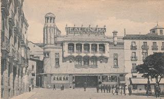 Real Cinema Madrid postcard