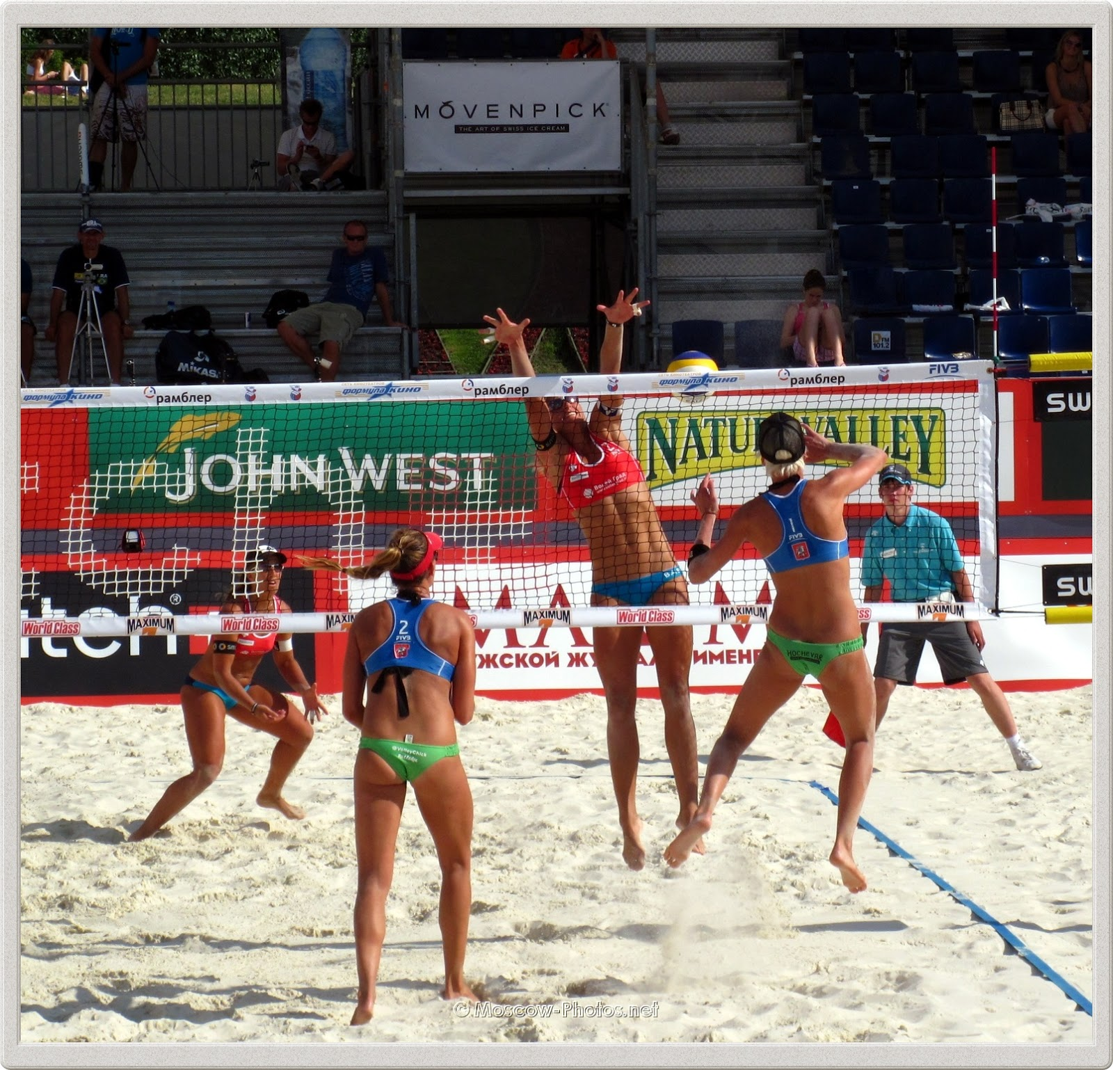 Beach Volleyball Moscow Grand Slam 2011