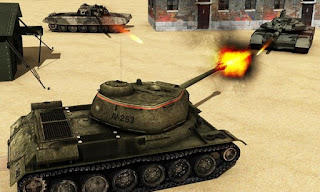 Tank Fury Blitz Mod Apk v1.0 (Unlimited Money) Terbaru
