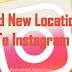 Instagram Custom Location