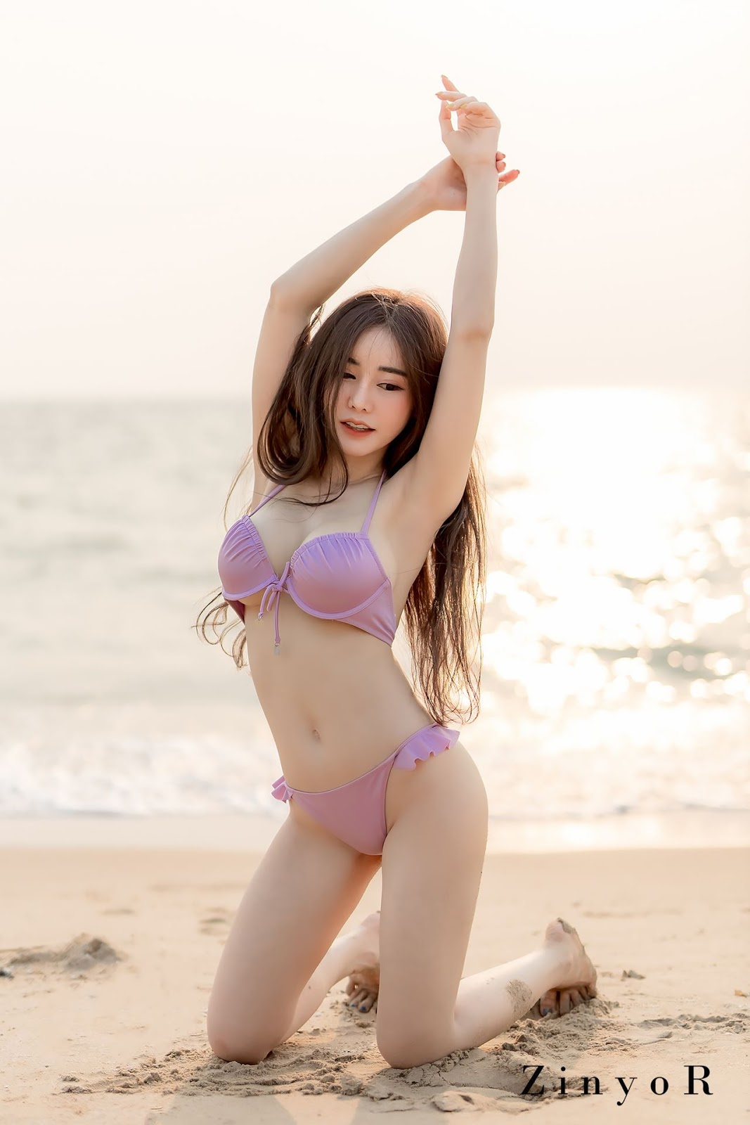 Image-Thailand-Sexy-Model-Blue-Jirarat-จิรารัตน์-ชานันโท-Blue-On-The-Beach-TruePic.net- Picture-2