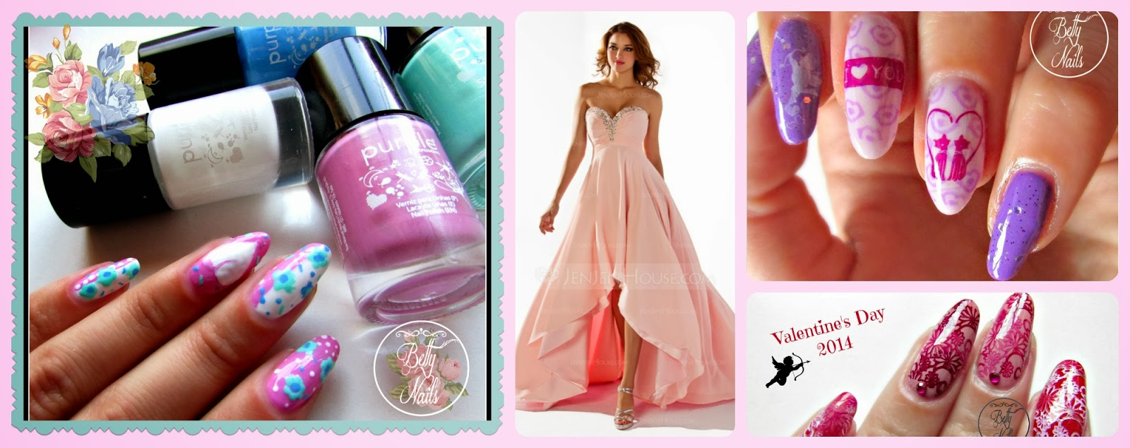 Betty Nails Party Dress Ideas For A Fairy Tale Romantic