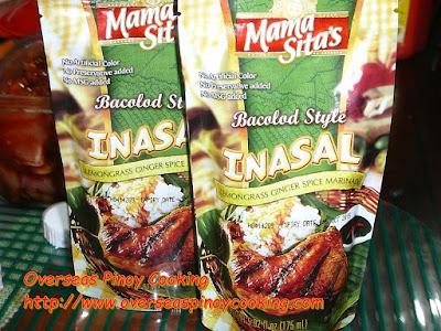 Mama Sita's Inasal marinade