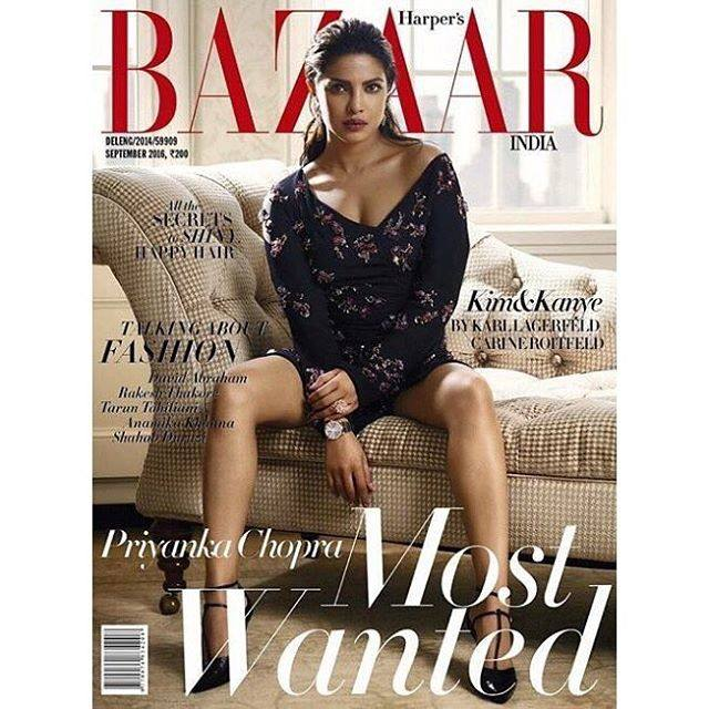 priyanka chopra harpers bazaar india fashion style