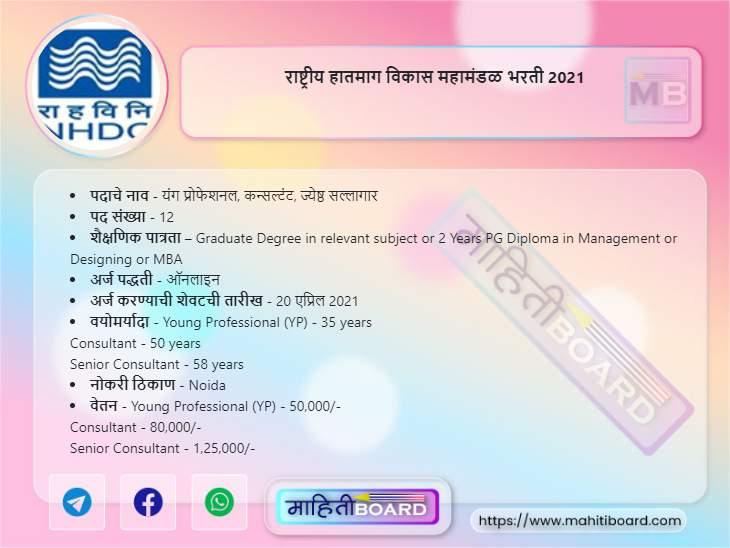 NHDC Bharti