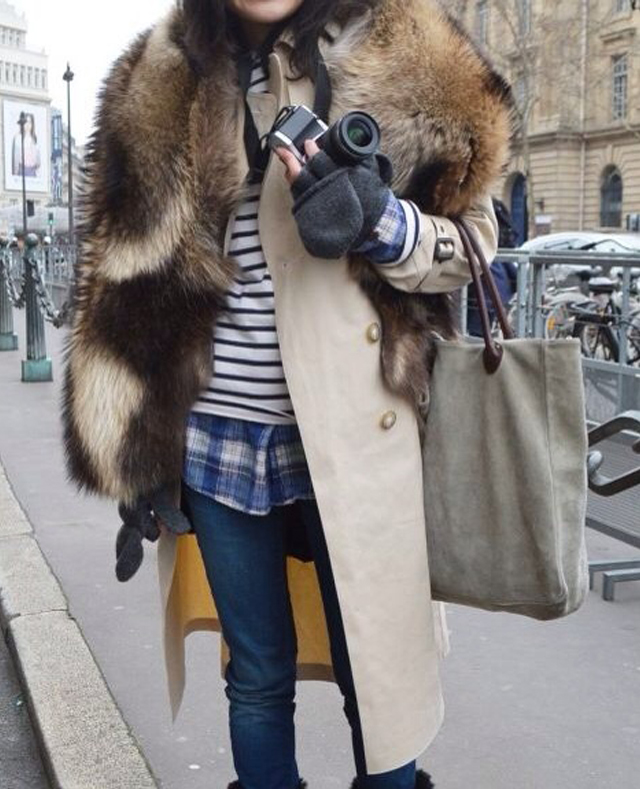 look trench et mariniere