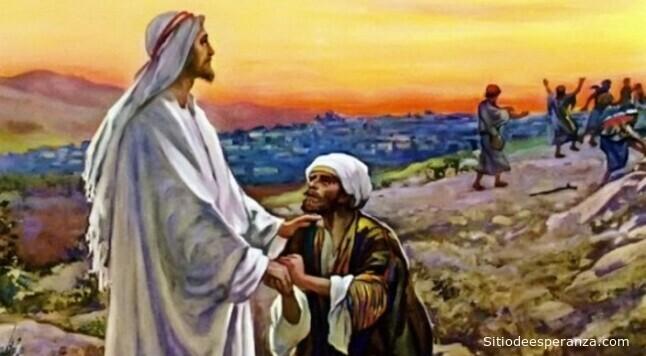 Jesús sana diez leprosos