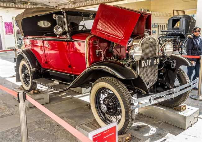 This Rolls Royce at vintage car museum is a real beauty
