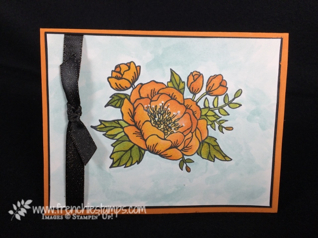 Birthday Blooms, Stampin' Blends, Stampin'Up!, Frenchiestamps,
