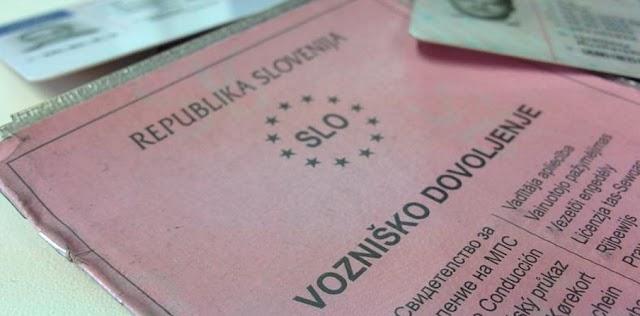Mazedonier mit Aberkannte slowenische Fahrerlaubnis unterwegs