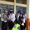 Proktor  Awasi Sebanyak 100 Orang Casis Bintara Ujian Akademik Sistem CAT UNBK di SMKN 5 Makassar