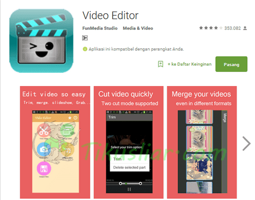 Cara Memotong Video di Android dengan Video Editor