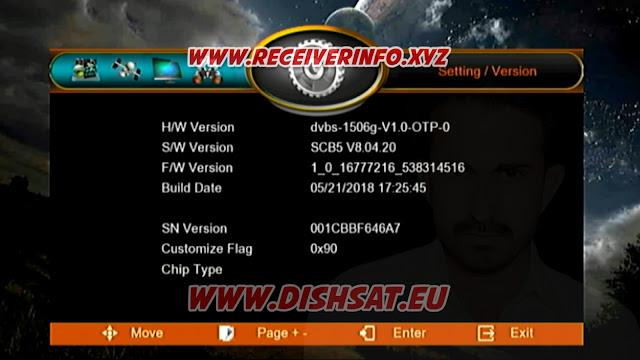 ECHOLINK 2020 1506G HD RECEIVER