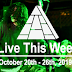 Live This Week: October 20th - 26th, 2019