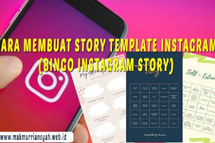 Cara Membuat Bingo Instagram Story