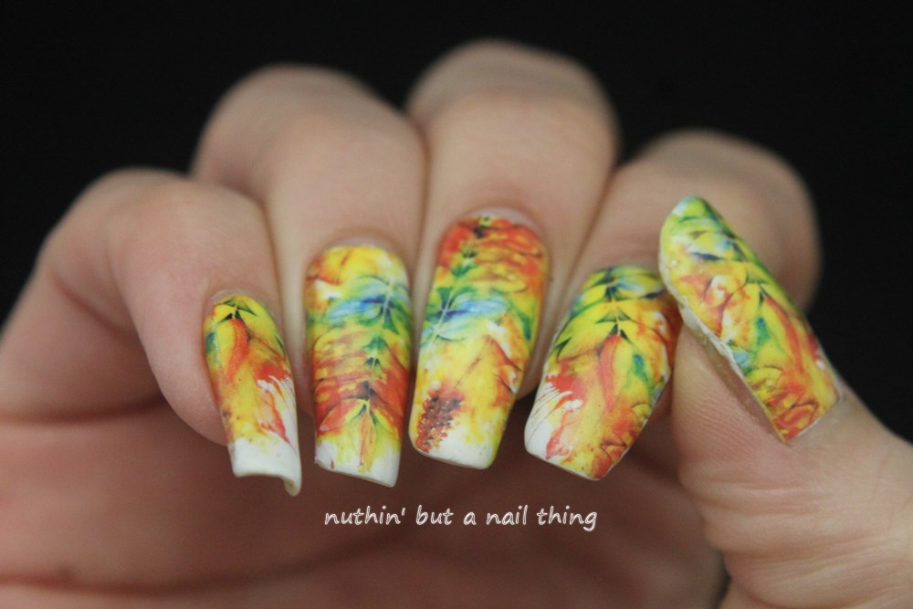 nuthin\' but a nail thing: Water-decal Wednesday: Autumn themed full ...