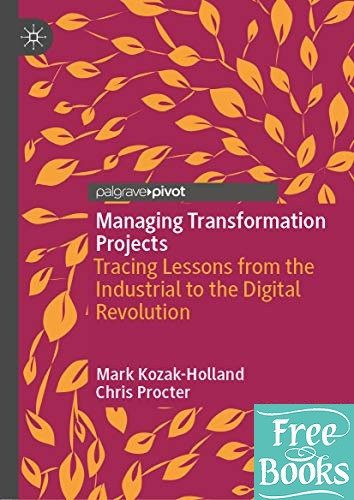 Managing Transformation Projects