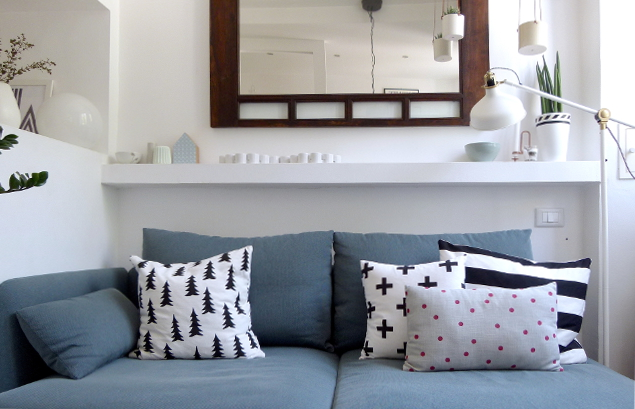 Appunti di casa: Restyling Minicasa 2.0: un nuovo divano!