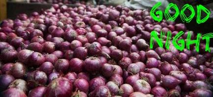 Wish You  Onion Good Night