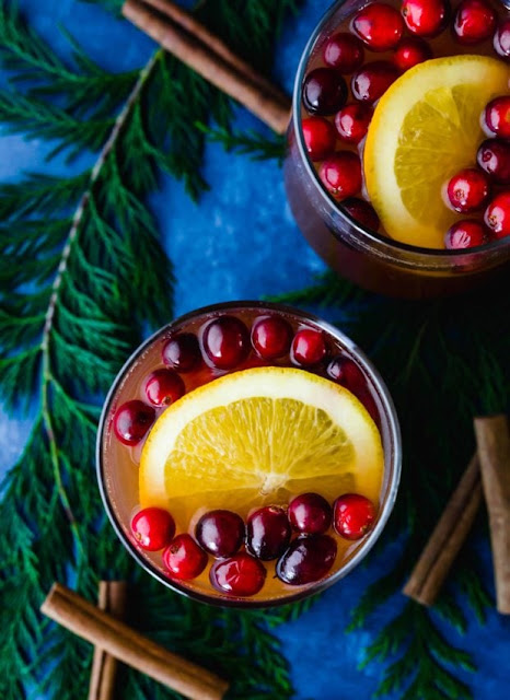 New Year's Day Brunch Ideas | Cranberry Apple Cider Recipe