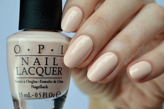 opi softshades pastels peach creme swatch furious filer