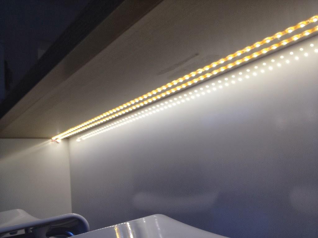 Hum S Baublog Indirekte Led Beleuchtung Der Kuche Mit Loxone