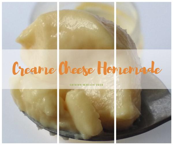 resep membuat cream cheese homemade
