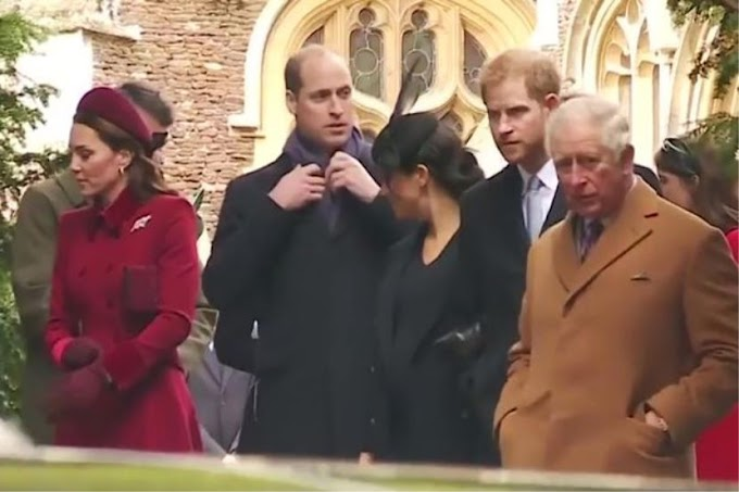 Video dedah Putera William gaduh dengan Meghan Markle