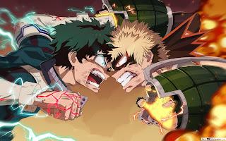 Midoriya vs Bakugo