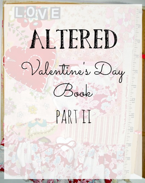 altered valentine's day book