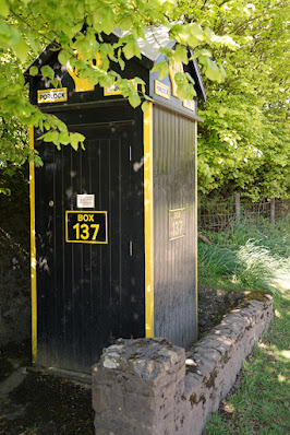 Photograph showing the full length of the AA box