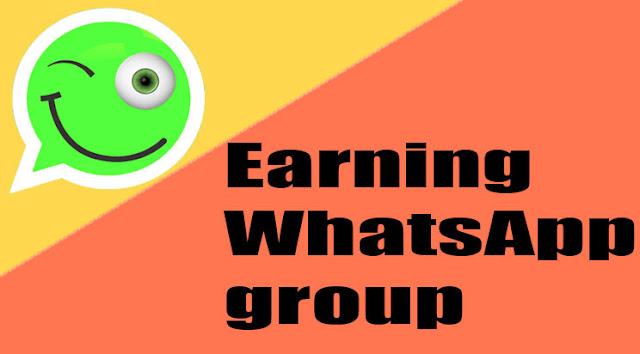 earning WhatsApp group