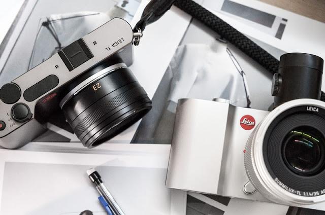 Fotografia promozionale della Leica TL