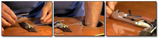 Instalación del Sistema Bowden B-Bender en Guitarra Acústica