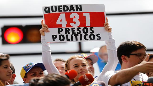 La declaración completa de Lilian Tintori este domingo en Chacaíto