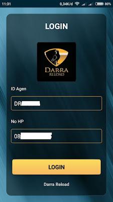 Cara Mendapatkan ID Agen Darra Reload - Panduan Daftar Dan Login Aplikasi