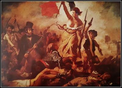 Πίνακας που απεικονίζει θριαμβευτική νίκη σε μάχη