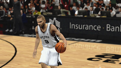 NBA 2K13 Tony Parker Face NBA2K Patch