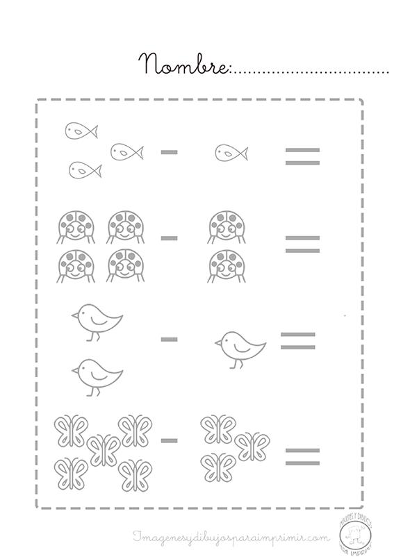 Restas Para Imprimir Imagenes Y Dibujos Para Imprimir
