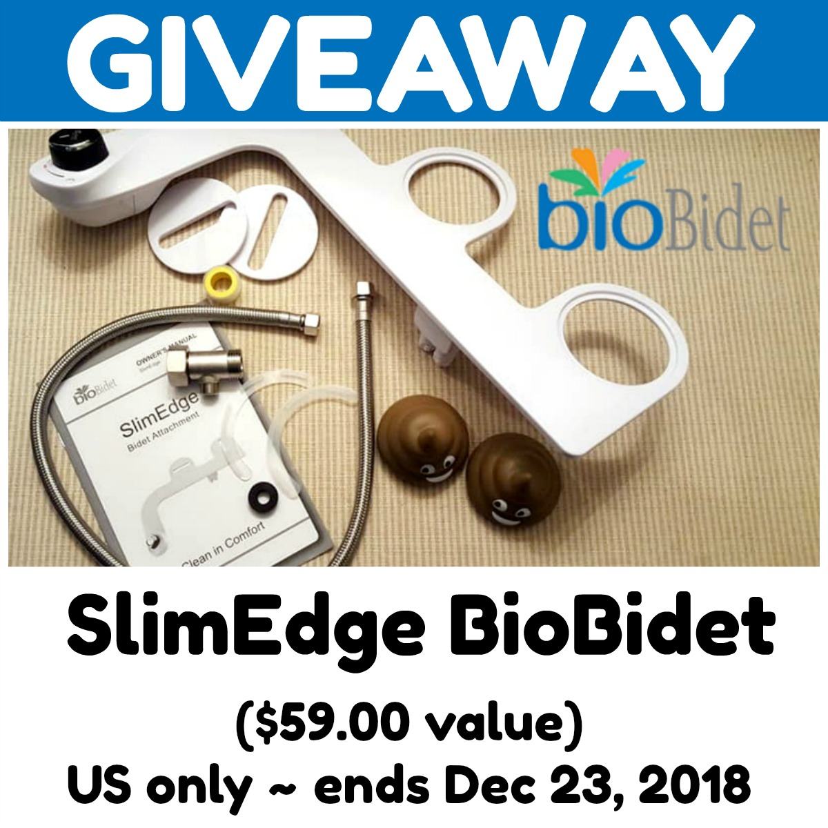 Reviews Chews How Tos Slimedge Biobidet Review Giveaway
