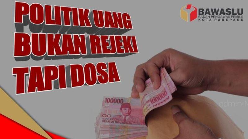 Rusak Demokrasi, Bawaslu Tanjungpinang Himbau Pemilih Tolak Politik Uang