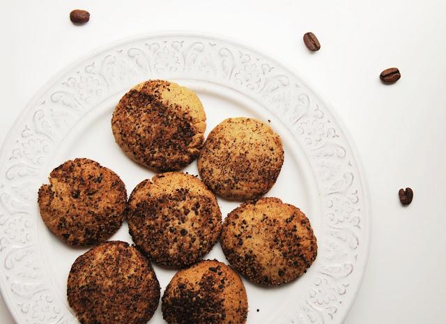 Biscuits sablés châtaigne café