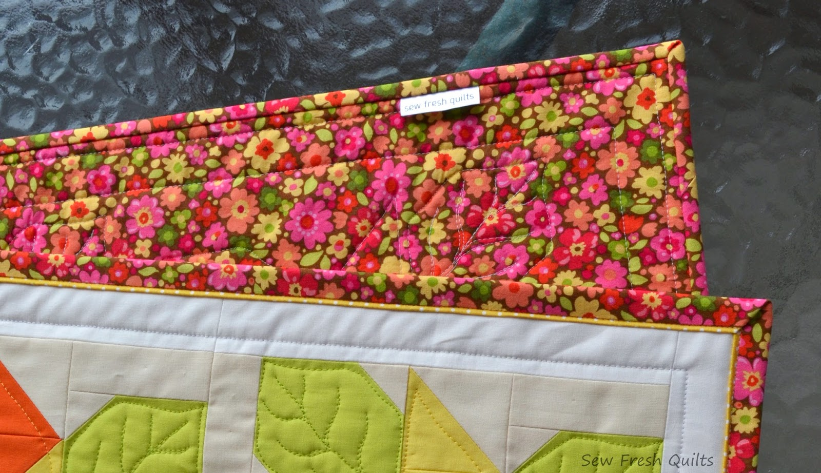 Sew Fresh Quilts: Flanged Binding Tutorial : adding binding to quilt - Adamdwight.com