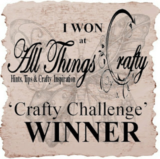 All Things Crafty Winner