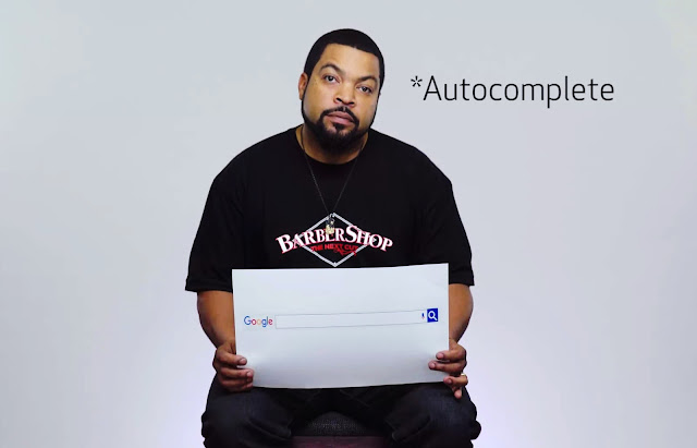 Ice Cubes Google Autocomplete Interview | All about Ice Cube