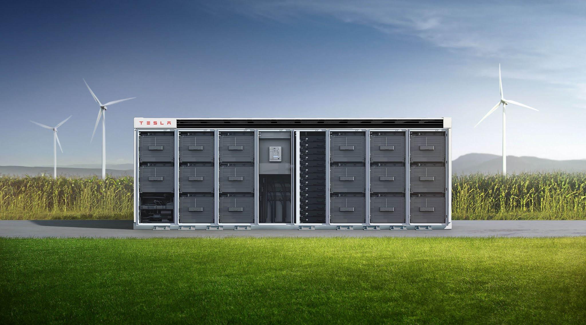 Las baterías Megapack de Tesla se agotan hasta finales de 2022 😮