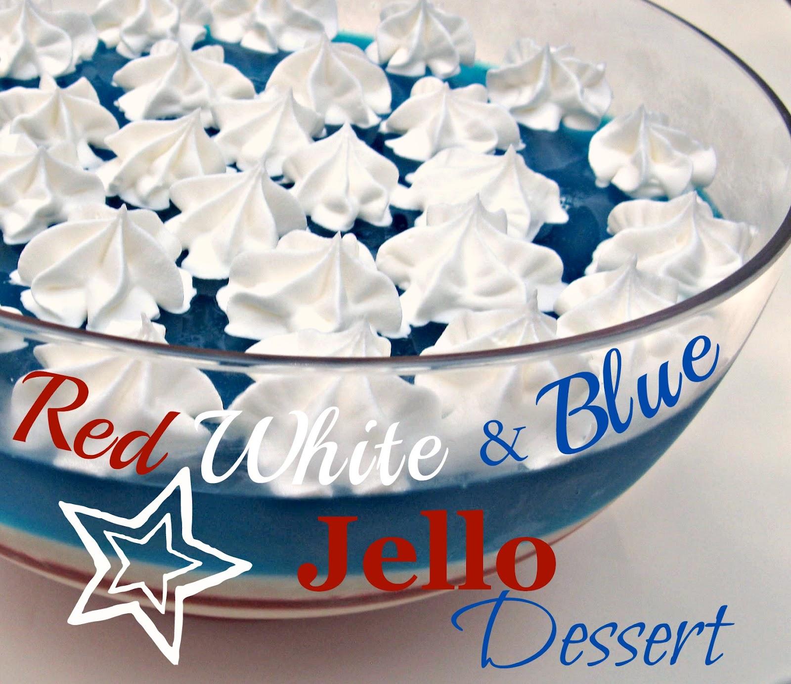 Cooking with K: Red White & Blue Jello Dessert {Fun Dessert To ...