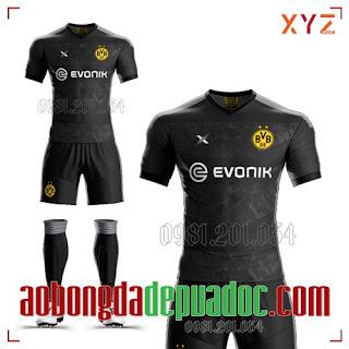Trọn Bộ Áo Bóng Đá Chính Hãng CLB Dortmund 2020